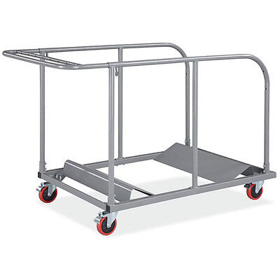 Heavy Duty Round and Rectangular Folding Table Cart - Banquet Round Table Dolly