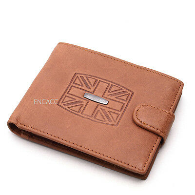 NEW COWHIDE LEATHER BUSINESS Credit Card Wallet Holder clutch coin pouch purse