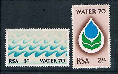 South Africa 1970 Water 70 Campaign SG 299/300 MNH