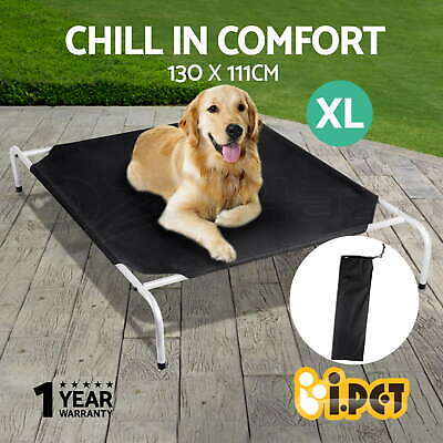i.Pet Pet Dog Bed Trampoline Cat Puppy Hammock Canvas Cover Heavy Duty XL