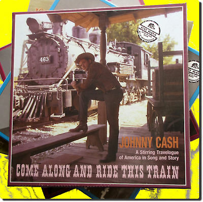 Johnny Cash , Come Along and Ride This Train ( 4 CD )