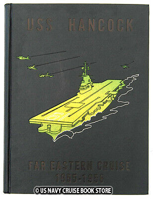 USS HANCOCK CVA-19 FAR EAST CRUISE BOOK 1955-1956