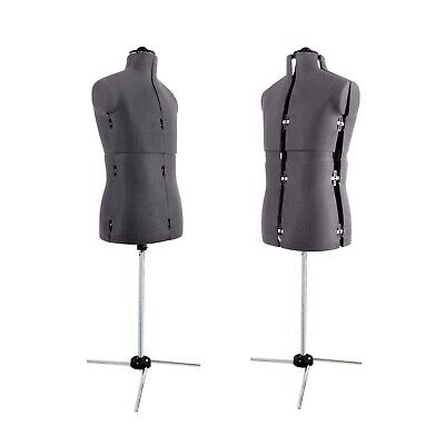 Menswear Mannequins Tailors Dressmakers Dummy Mannequin Adjustable Dress Form