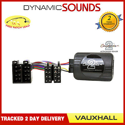 VAUXHALL Astra, Corsa Steering Stalk Control Adaptor CTSVX001 for Pioneer Stereo
