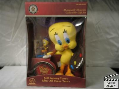 Tweety Memorable Moments Collectible Gift Set, plush & figurine; Applause NEW