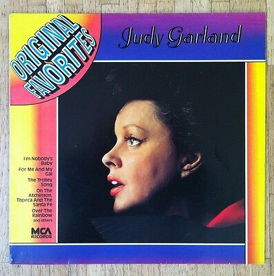 JUDY GARLAND Original Favorites LP/GER