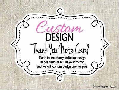 Thank You Note Cards Custom Personalized - MADE TO MATCH