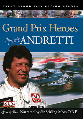 Mario Andretti - Grand Prix Heroes Dvd - All Regions - Brand New & Sealed
