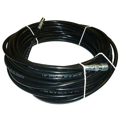 """1/8"""" x 50' Sewer Cleaning Jetter Hose 4800 PSI"""