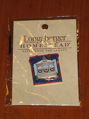2004 Longaberger Tournament of Roses Parade ~ Gazebo Float LAPEL PIN NIB
