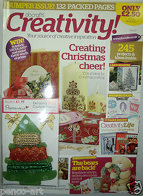 Docrafts magazine issue number 17 with a free gift. New and complete.  Sept 2009