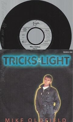 "7"" Mike Oldfield--Tricks Of The Light"