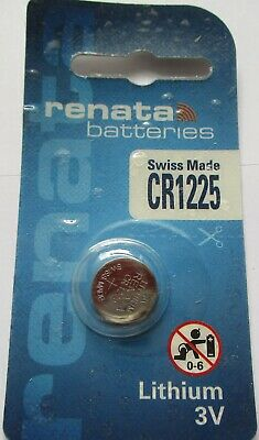 Renata Lithium Batterie CR1220, ED: 06.2022 - 3 Volt, Swiss Made, Uhrenbatterien