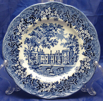 J&g Meakin Romantic England Penshurst Place 7 Inch Plate Round Backstamp