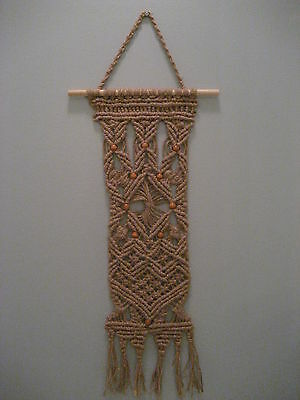 "Wall decoration - macrame art,  ""Stars"""