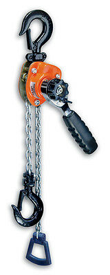CM 602 MINI RATCHET LEVER HOIST  550LB CAP. 5' lift 0210 In Stock Ready To Ship