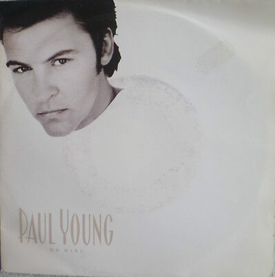 "7"" 1990 ! PAUL YOUNG : Oh Girl // MINT- \"