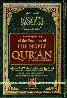 Noble Quran Medium Arabic-English