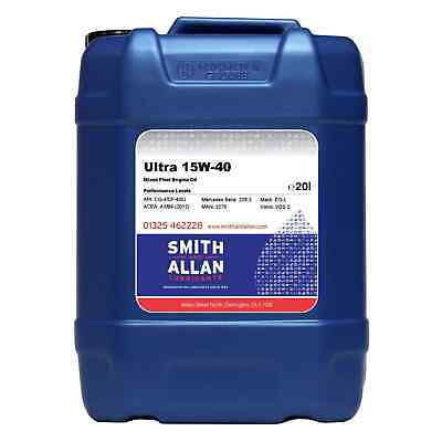 Ultra 15w-40 Engine Oil Petrol & Diesel Mixed Fleet 20 Litre 20L