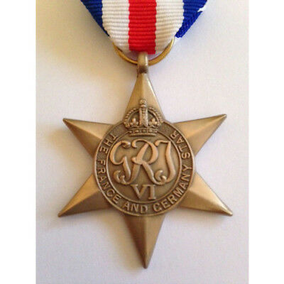 World War II - France and Germany Star Medal