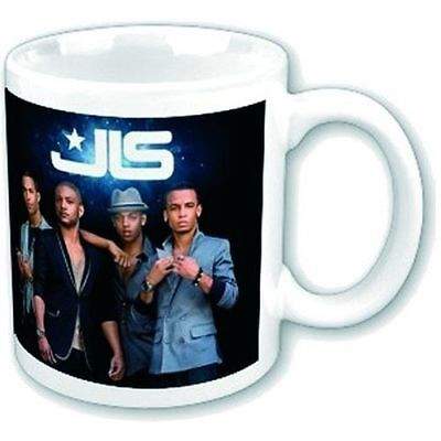 JLS Outta This World White Coffee Mug Cup Boxed Official Fan Gift Album Cover
