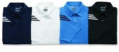 NEW ADIDAS Golf Men ClimaCool Mesh ALL TOUR Shirts ALL SIZES/COLORS A64