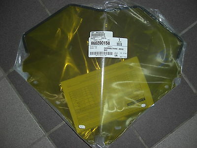 """Ski-Doo 12"""" Low Fixed Windshield REV-XP (X package)  Yellow with Bee #860200158"""