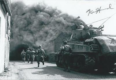 Ken Hummel signed autograph WW II Tank Operator Battle of Bulge RARE COA LOOK!