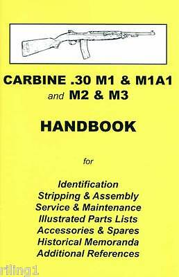 M1 CARBINE .30 M1, M1A1, M2 & M3 Assembly, Disassembly