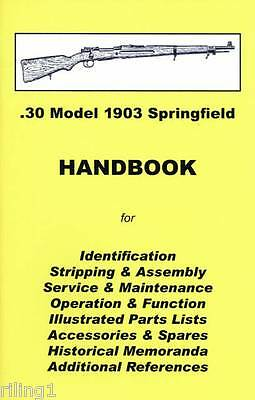 1903 Springfield 03 Springfield Takedown Manual Guide