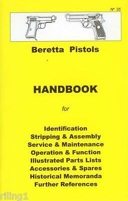 Beretta Pistols Assembly, Disassembly Manual