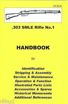 .303 British SMLE Rifle No.1 Takedown Manual Guide