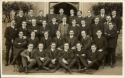 Carmarthen. Students of the Presbyterian College, 1912.