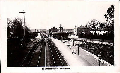 Clynderwen Railway Station near Whitland.