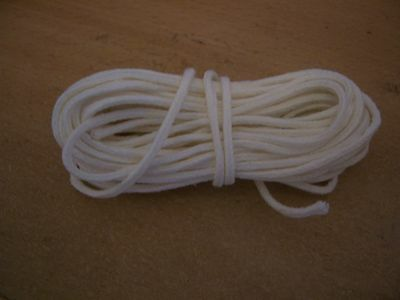 """5 Metre Cotton Braided Candle Wick - for 3/4"""" to 1.1/4"""" (18mm-32mm) (MBC-1E)"""