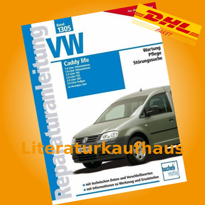 vw caddy life ab 2004 reparaturanleitung reparatur handbuch reparaturbuch buch eur 29 90. Black Bedroom Furniture Sets. Home Design Ideas