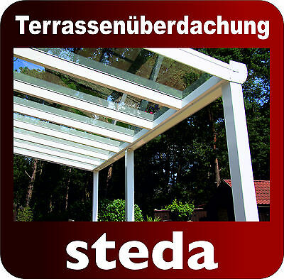 terrassen berdachung aluminium 500x350 cm pergola berdachung anlehn carport eur. Black Bedroom Furniture Sets. Home Design Ideas