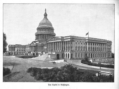 Usa - Washington D.c. - Das Capitol - 1902