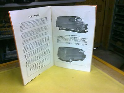 Bedford  Cas & Cal Instruction Book (Petrol Engined Model's)