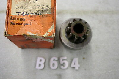 B654 - NOS Lucas Starter Drive #54246725 for Tractors