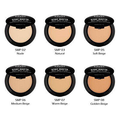 """3 NYX Stay Matte But Not Flat Powder Foundation - SMP """"Pick Your 3 Color""""*Joy's*"""