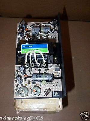 new SOLA 83-15-2170 POWER SUPPLY 15 VDC @ .7 A amps OUTPUT