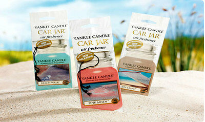 Refreshing Car Air Fresheners By Yankee Candles Variety Available With Free P&P