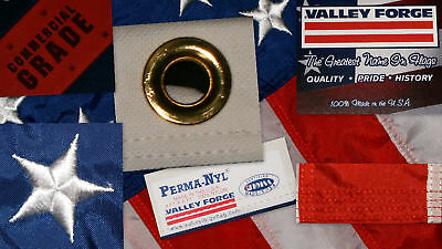 Commercial Grade- Valley Forge  American Flag 4'x6' sewn Nylon Made in the USA