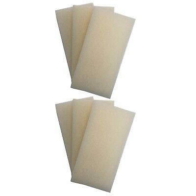 6 x INTERPET PF3 REPLACEMENT FOAMS Interpet PF Internal Filter