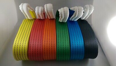 New 2M 4X4 Recovery Winch Tow/towing Rope Straps Tree Strop 5 Ton Warn Off Road