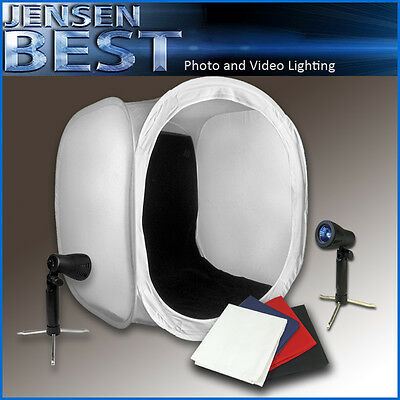 """30"""" Photo Studio Light Box Kit For Product Photography With Lights"""