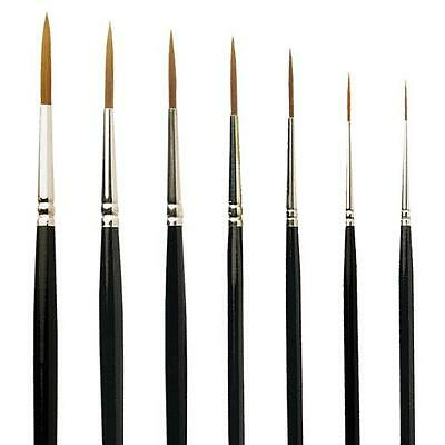 Pro Arte Series 103 Prolene Riggers Short Handle Watercolour Artist Paint Brush