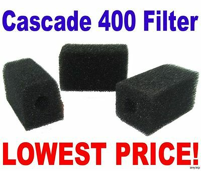 Cascade Bio Sponge 400 Foam Filter Penn Plax Replacement