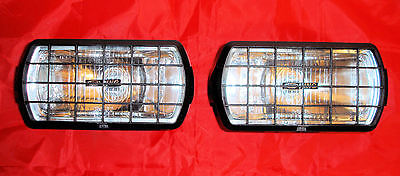 2 X NEW Ring RL022G Rectangular Driving / Spot Lights With Stone Guards